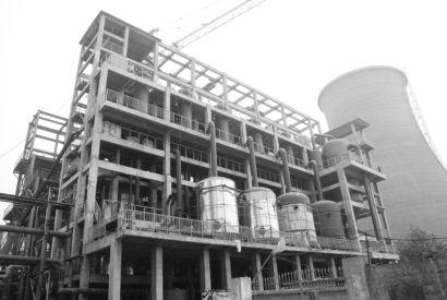 全国首个钢筋混凝土 框架结构蒸发厂房投用