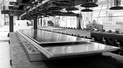 广西柳州银海铝业:年产35万吨高精铝板带项目试产成功